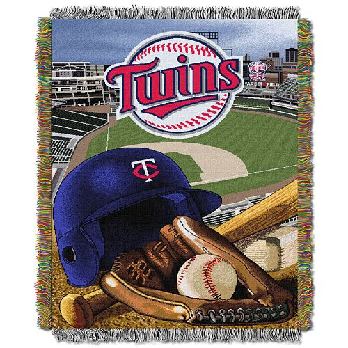 Minnesota Twins Tapestry Throw by Northwest