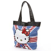 Hello Kitty British Flag Tote