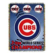 Chicago Cubs Commemorative Throw by Northwest