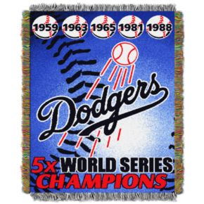 Los Angeles Dodgers Commemorative Throw by Northwest