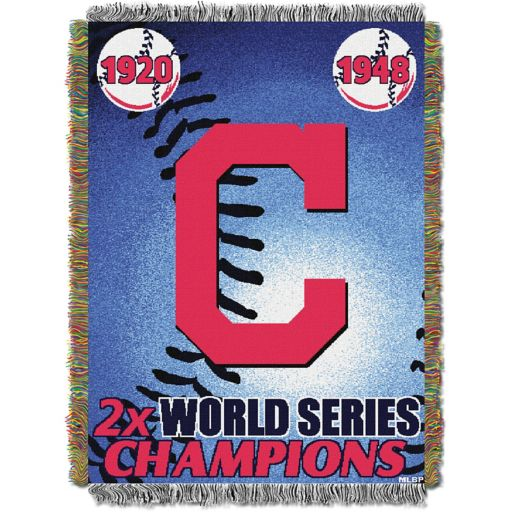 Cleveland Indians Commemorative Throw by Northwest