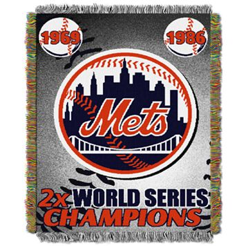 New York Mets Commemorative Throw by Northwest