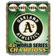 Oakland Athletics Commemorative Throw by Northwest