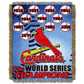 St. Louis Cardinals Commemorative Throw by Northwest