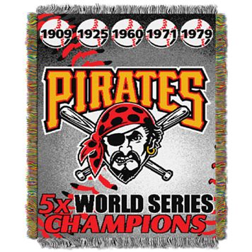 Pittsburgh Pirates Commemorative Throw by Northwest