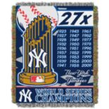 New York Yankees Commemorative Throw by Northwest