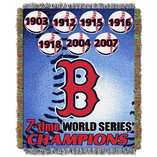Boston Red Sox Commemorative Throw by Northwest