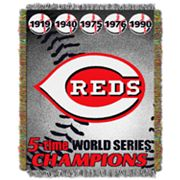 Cincinnati Reds Commemorative Throw by Northwest