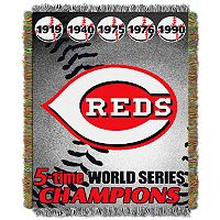 Cincinnati Reds Commemorative Throw by Northwest