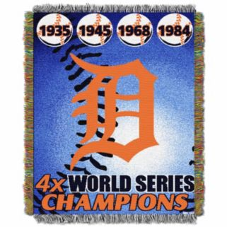Detroit Tigers Commemorative Throw by Northwest