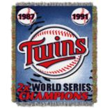 Minnesota Twins Commemorative Throw by Northwest