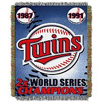 Minnesota Twins Commemorative Throw by Northwest
