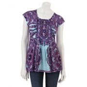 Apt. 9 Paisley Embellished Top