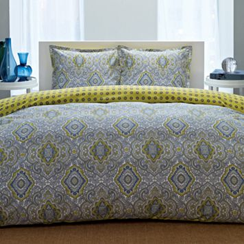 City Scene Milan 3-pc. Duvet Cover Set - King