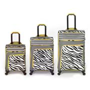 Heys USA Luggage, Aerolite Zebra 3-pc. Spinner Luggage Set