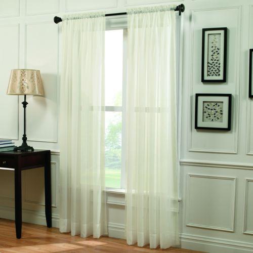 Home Classics® Voile Window Panel - 59'' x 95''