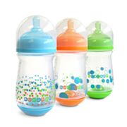 The First Years 3-pk. 8-oz. GumDrop Wide-Neck Bottles