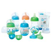The First Years GumDrop 10-pc. Bottle Starter Set
