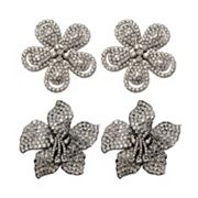 FlipOut 2-pk. Daisy and Orchid Charm Set