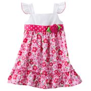 Sophie Rose Floral Seersucker Sundress - Toddler