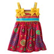 Bonnie Jean Printed Sundress - Toddler