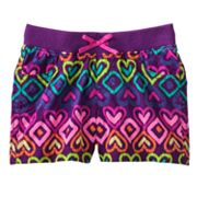 Jumping Beans Heart Shorts - Toddler