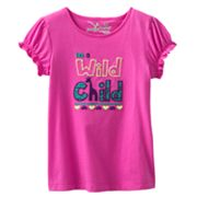 Jumping Beans I'm a Wild Child Tee - Toddler