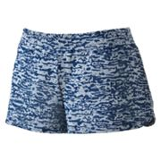 Derek Heart Burnout Shortie Shorts - Juniors