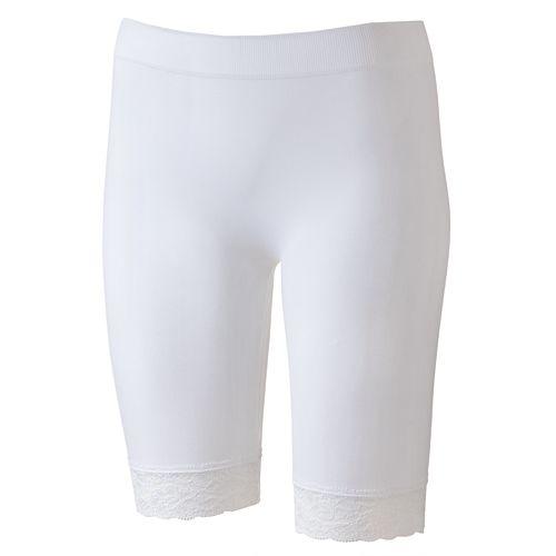One Step Up Lace Biker Shorts - Juniors