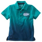 SONOMA life + style Buddy's Fish Camp Polo - Toddler