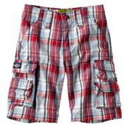 Lee Plaid Cargo Shorts - Boys 4-7x
