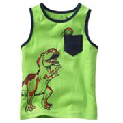 Jumping Beans Dinosaur Pocket Tank - Toddler