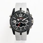 U.S. Polo Association Black and White Analog and Digital Chronograph Watch - US9250A - Men