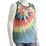 Hang Ten Tie-Dyed Swirl Tank Top - Men