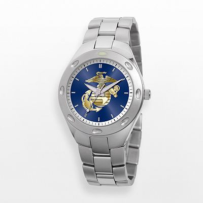 U.S. Marine Corps Stainless Steel Watch - W000757 - Men