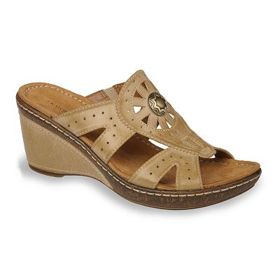 NaturalSoul by naturalizer Hearst Wedge Sandals - Women