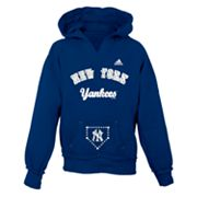 adidas New York Yankees Hoodie - Girls 7-16