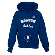 adidas Boston Red Sox Hoodie - Girls 7-16