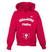 adidas Philadelphia Phillies Hoodie - Girls 7-16