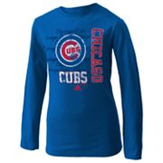 adidas Chicago Cubs Tee - Girls 7-16