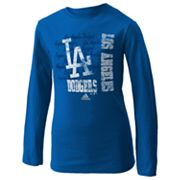 adidas Los Angeles Dodgers Tee - Girls 7-16