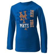 adidas New York Mets Tee - Girls 7-16