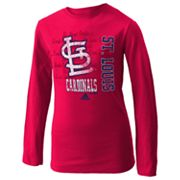 adidas St. Louis Cardinals Tee - Girls 7-16