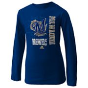 adidas Milwaukee Brewers Tee - Girls 7-16