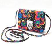 Fantasia Floral Quilted Cross-Body Handbag - Girls