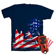 Patriotic Surfer Tee - Boys 4-7