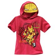 Iron Man Hooded Tee - Boys 4-7