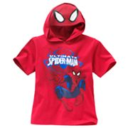 Spider-Man Hooded Tee - Boys 4-7