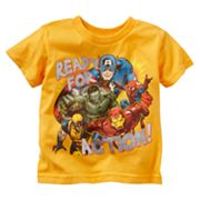 Ready for Action Superhero Tee - Toddler