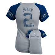 adidas New York Yankees Derek Jeter Jersey Tee - Girls 7-16